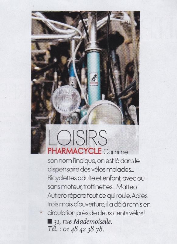Article Elle Pharmacycle